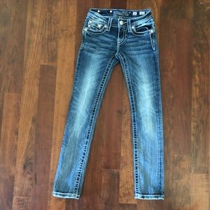 {Miss Me} girls size 8 skinny jeans